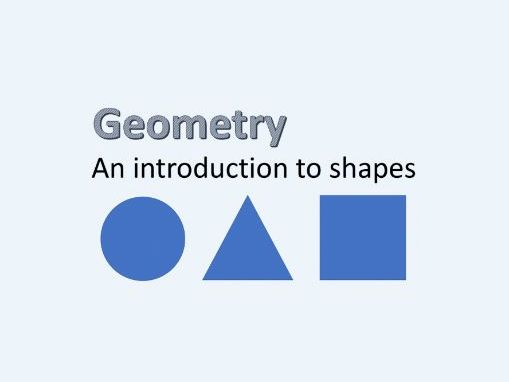 Geometry - Introduction to 2D and 3D shapes - SEN, MLD, SLD - KS2, KS3