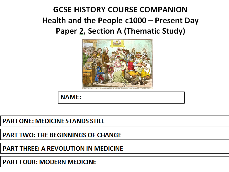 AQA (9-1) GCSE History - Health and the People - Part Three