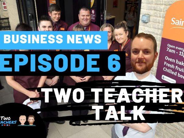 Activity Sheet & Video | Two Teachers Talk Business News: Episode 6