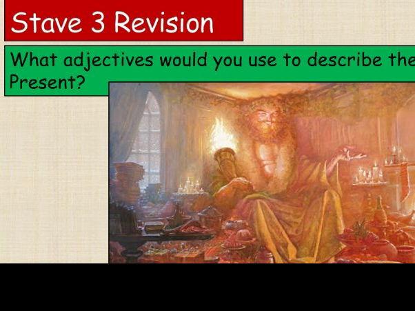GCSE A Christmas Carol Stave 3 Revision