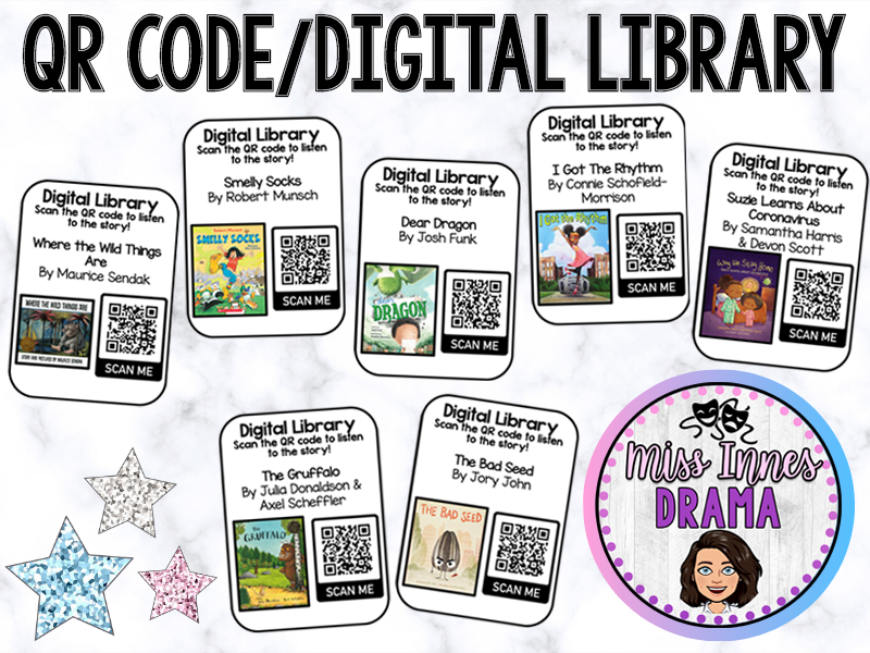 QR Code/Digital Library - 1