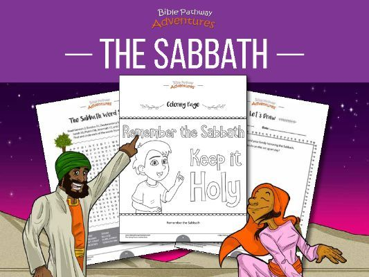 The Sabbath Activity Book