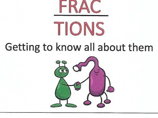 FRACTIONS - GETTING TO KNOW THEM