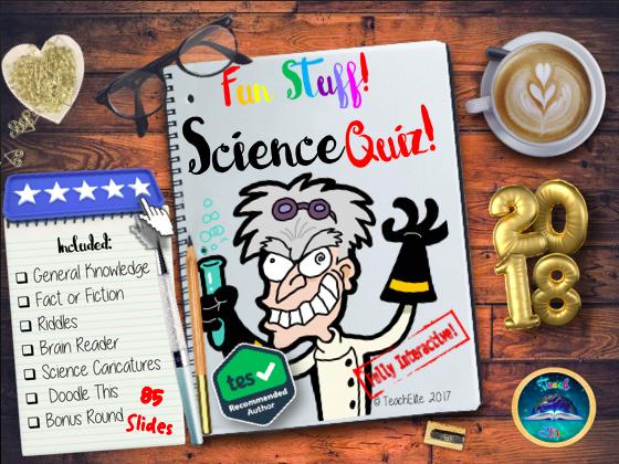 Tutor Time:  Science Quiz