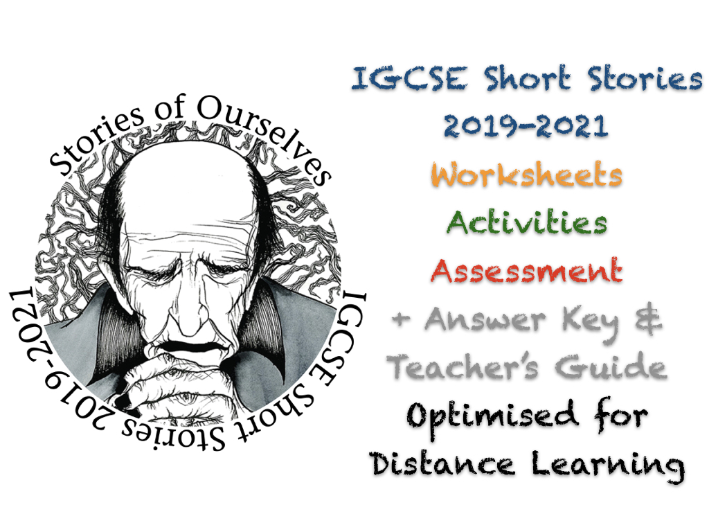 IGCSE Short Stories (for English Literature Examinations in 2019, 2020, 2021) + ANSWERS