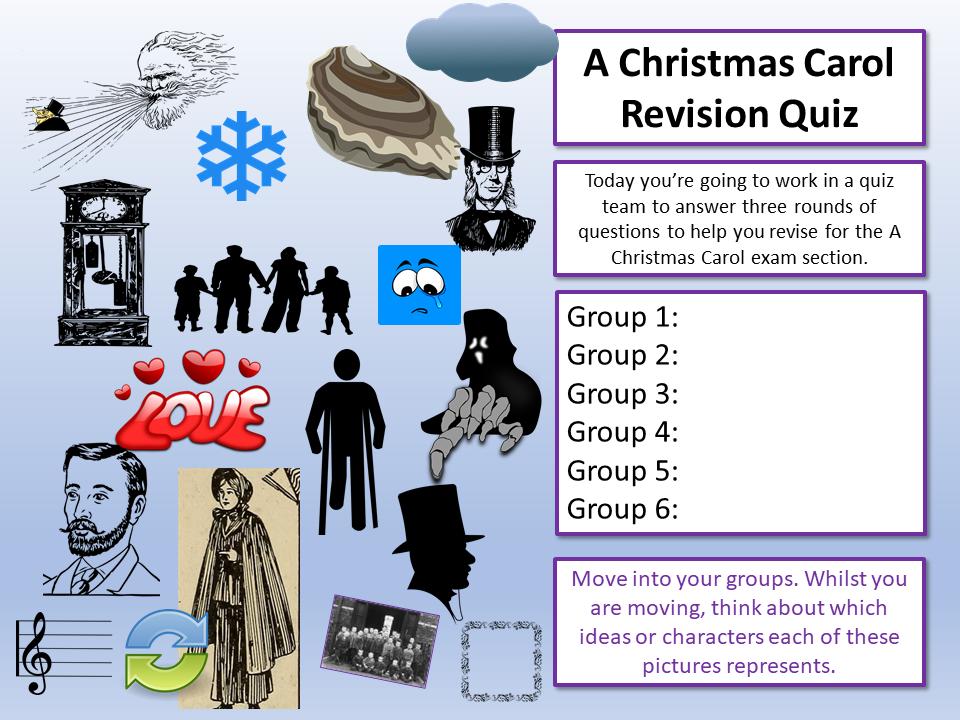 A Christmas Carol English Quiz