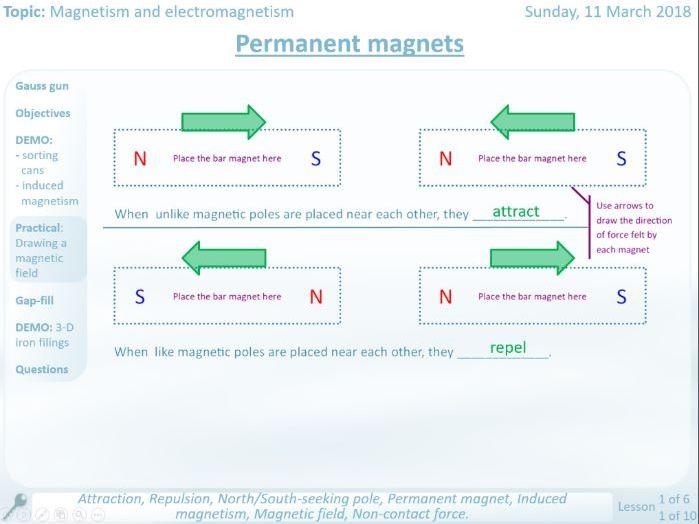 NEW AQA Permanent Magnets GCSE lesson