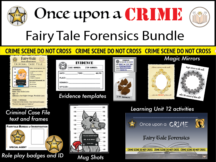 Once Upon a Crime, Fairytale Forensics Bundle