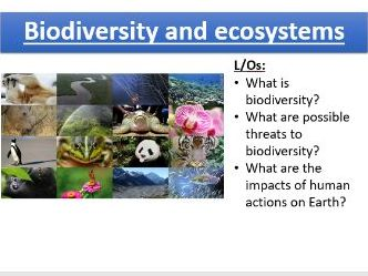 New spec KS4 AQA Biodiversity 4.7.3 (Biology & Trilogy) incl. Eutrophication and Bioaccumulation