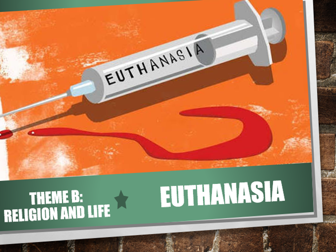 AQA Theme B Religion and Life 11: Euthanasia