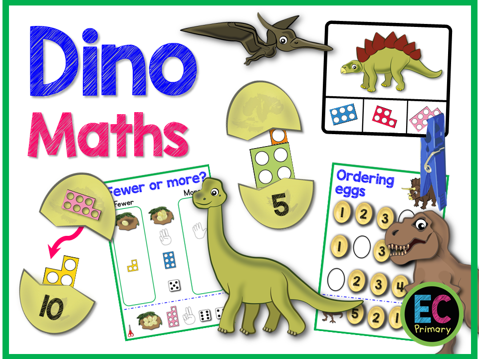 EYFS Home Learning Dinosaur