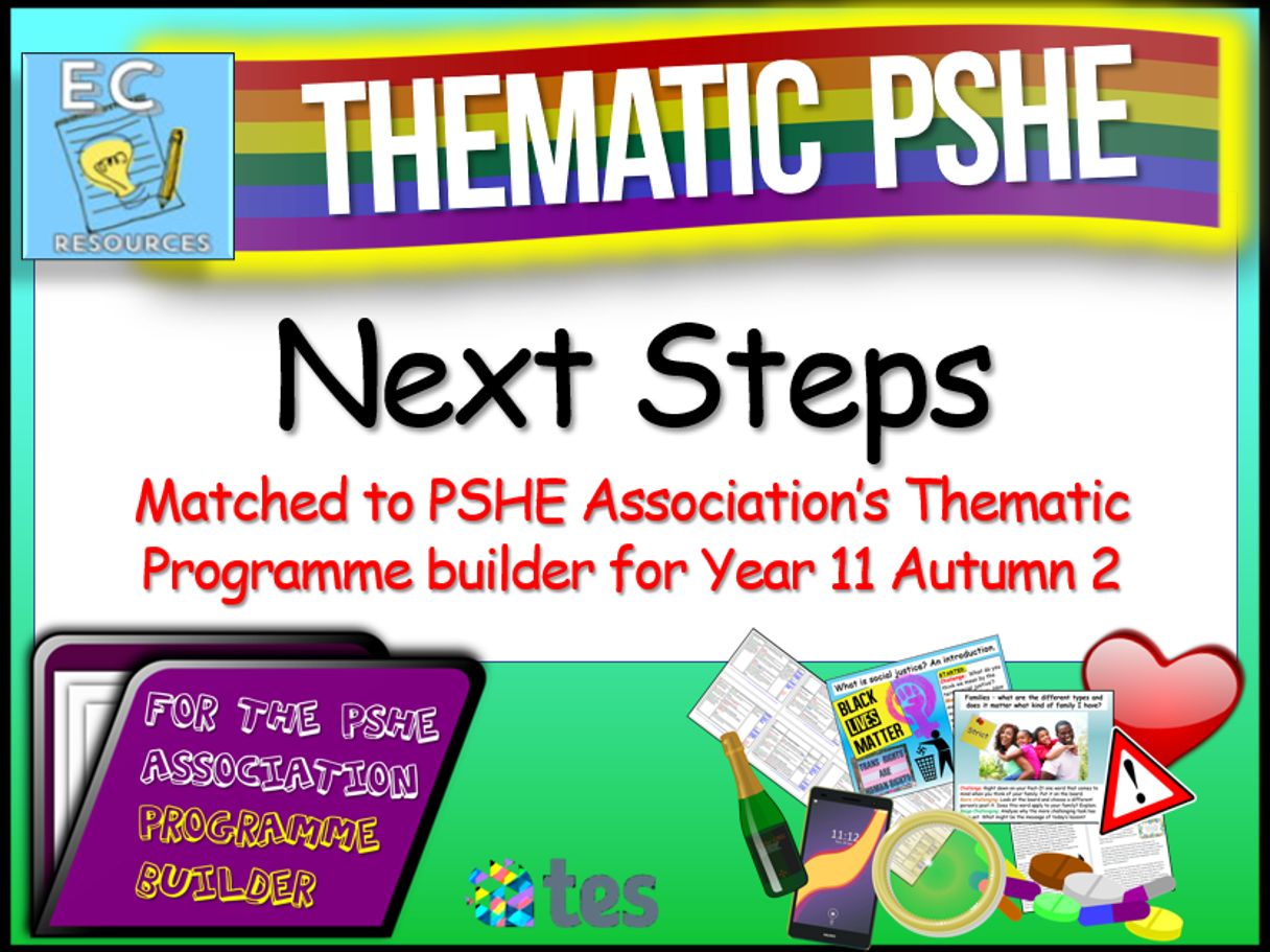 Thematic PSHE Next Steps