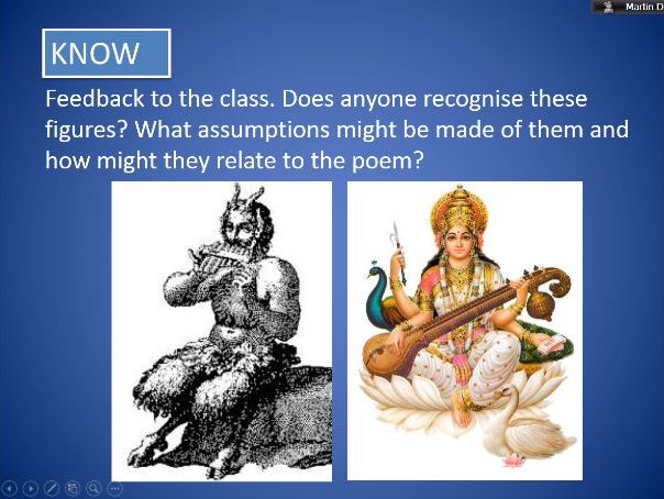 'A Different History' by Sujatta Bhatt (Powerpoint & Worksheet)