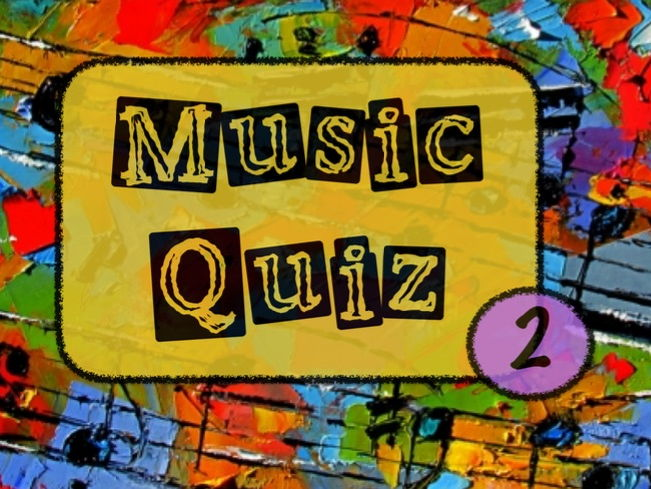 Music Quiz no.2 (2016/17)
