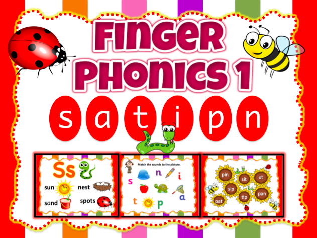Jolly Phonics 1 - satipn Animated Powerpoint  (21 slides)