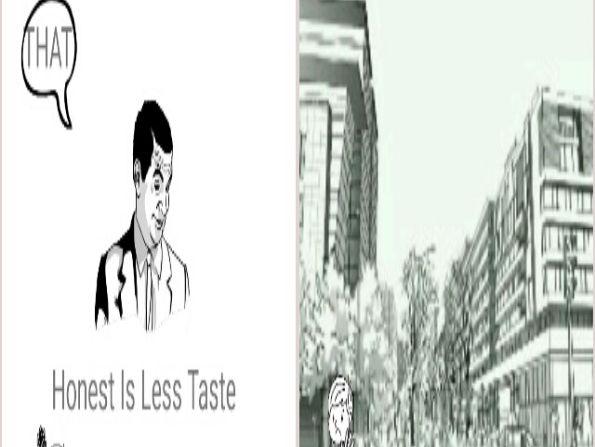 Honest Is Less Taste 4