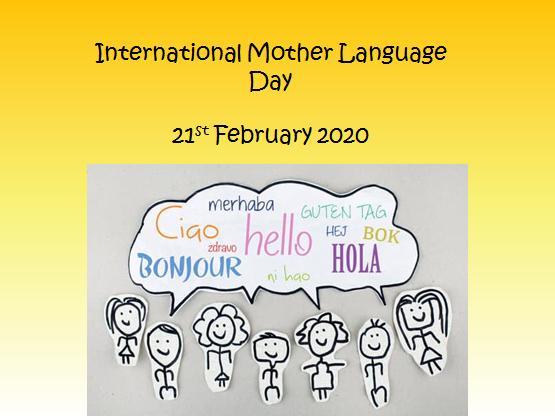 International Mother Language Day Assembly KS1 and KS2