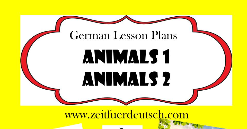 Animals Bundle. German Powerpoints, Lesson Plans and Resources & Bonus 'Colours' Lessons