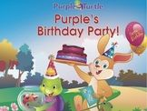 Purple Turtle Stories: Purple's Birthday Party! EBOOK