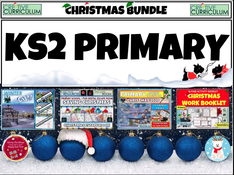 KS2 Primary Christmas Quiz Bundle