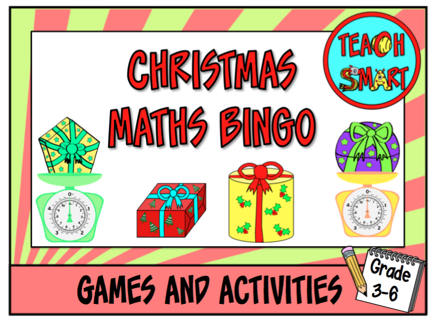 Christmas Maths Bingo