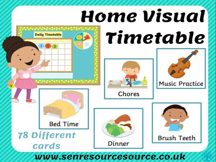 Home Visual Timetable