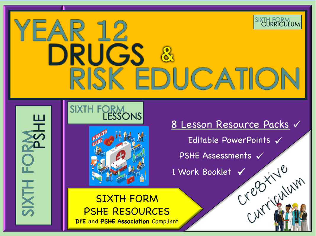 KS5 PSHE Drugs Education Lessons