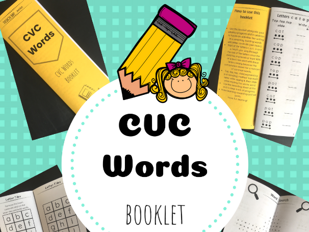 CVC Words Booklet