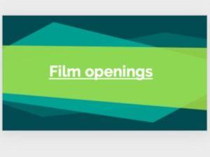 Eduqas GCSE Film Component 3: Film Openings