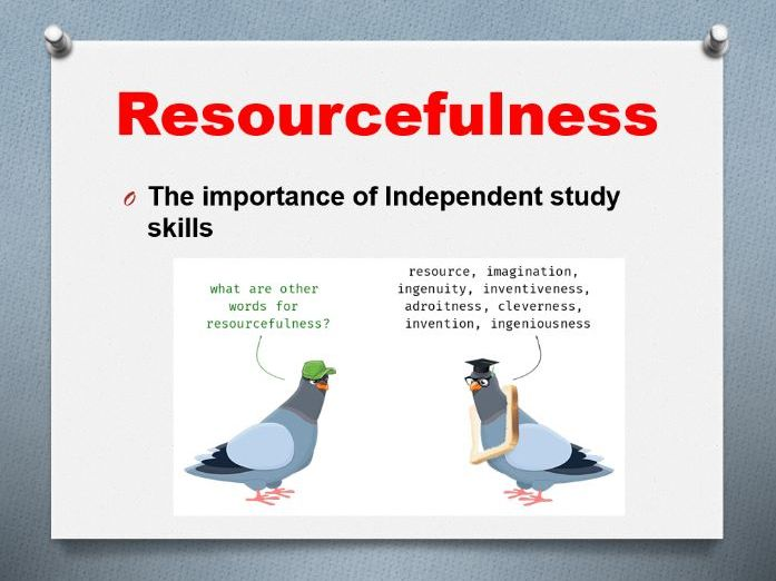 Induction Resourcefulness
