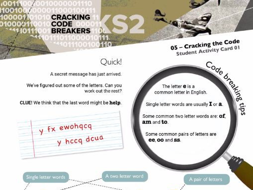 Cracking Code Breakers: (KS2) (British Science Association CREST SuperStar Link Scheme)