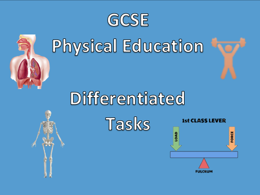 GCSE P.E - Differentiated Task - Skeleton, Bones and Joints