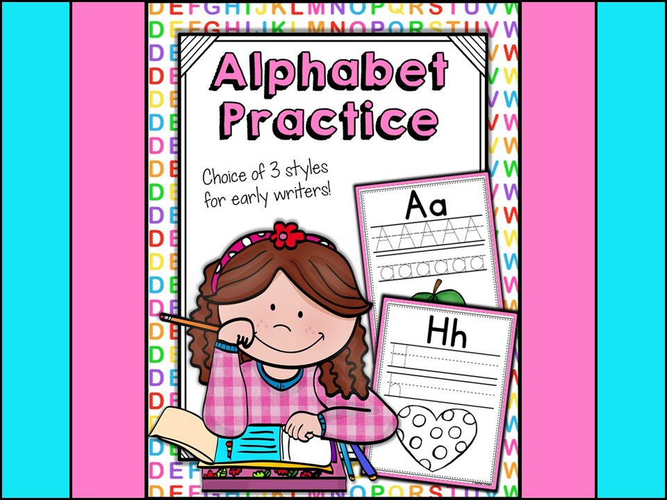 Alphabet: Alphabet Practice Workbook Print