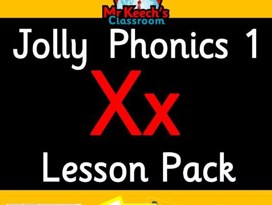 Phonics Worksheets, Lesson Plan, Flashcards   Jolly Phonics Letter X ...
