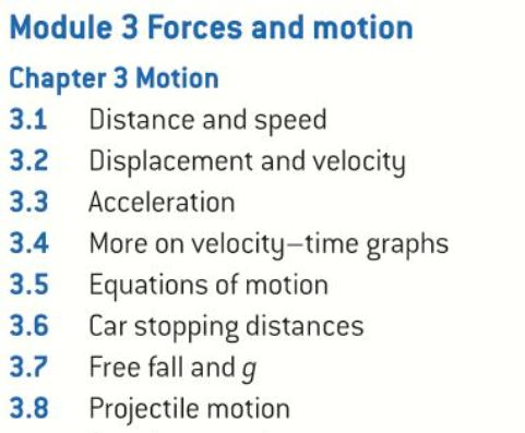 OCR AS level Physics: Motion