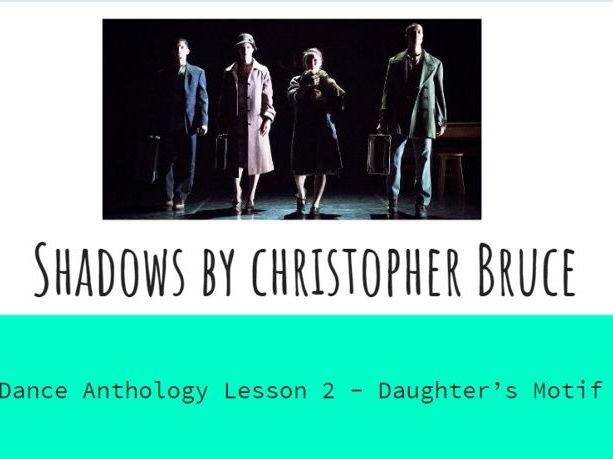 GCSE Dance Shadows Lesson 2
