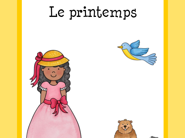 Vocabulaire du printemps  (Spring Vocabulary)