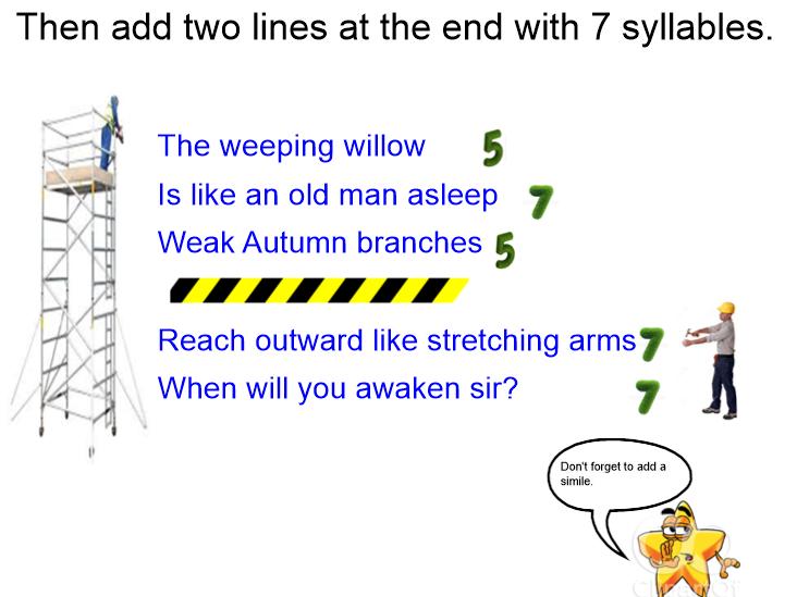 KS2-English-Tanka Poems-Lesson 4