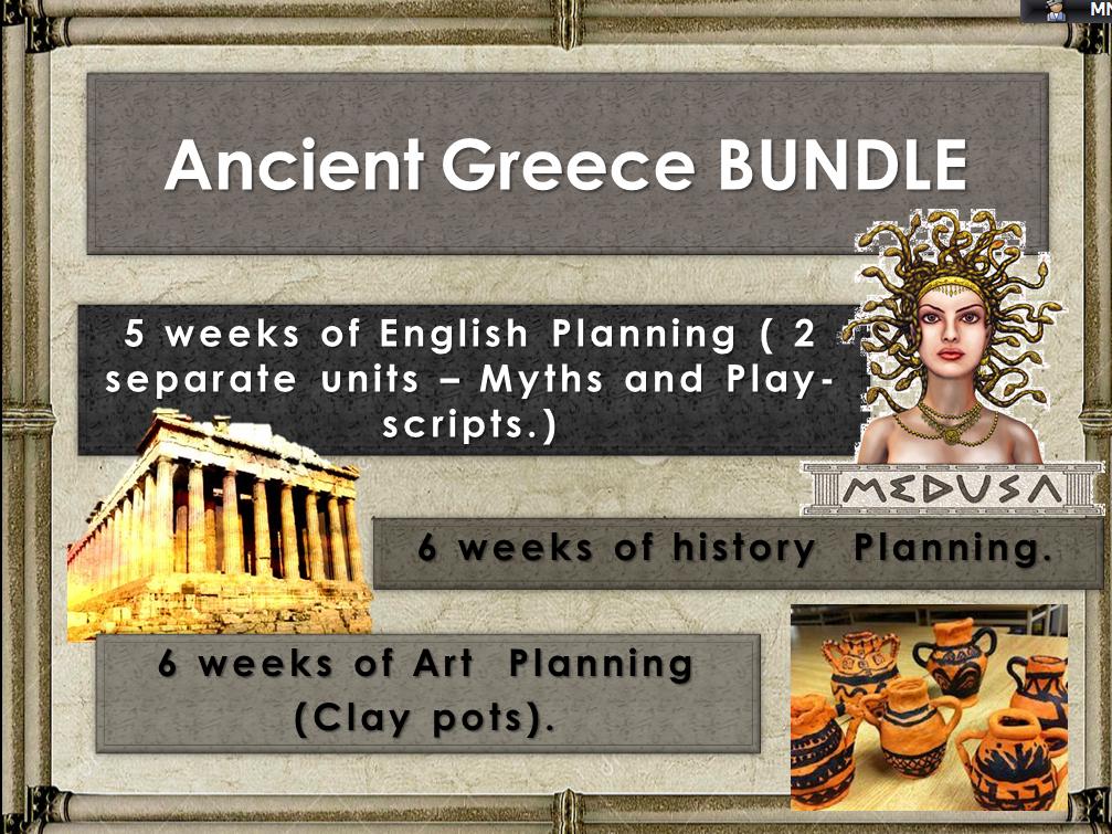 Ancient Greek Topic