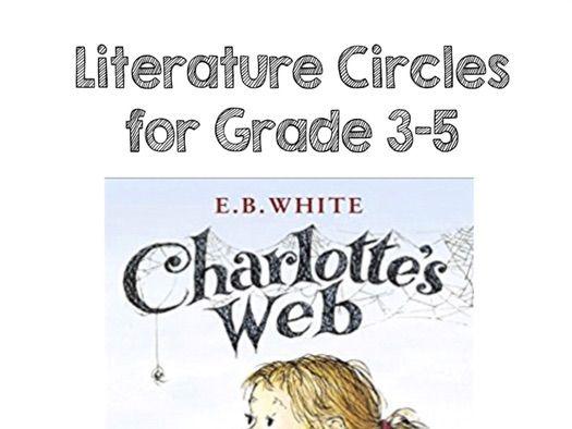 Charlotte's Web Literature Circles