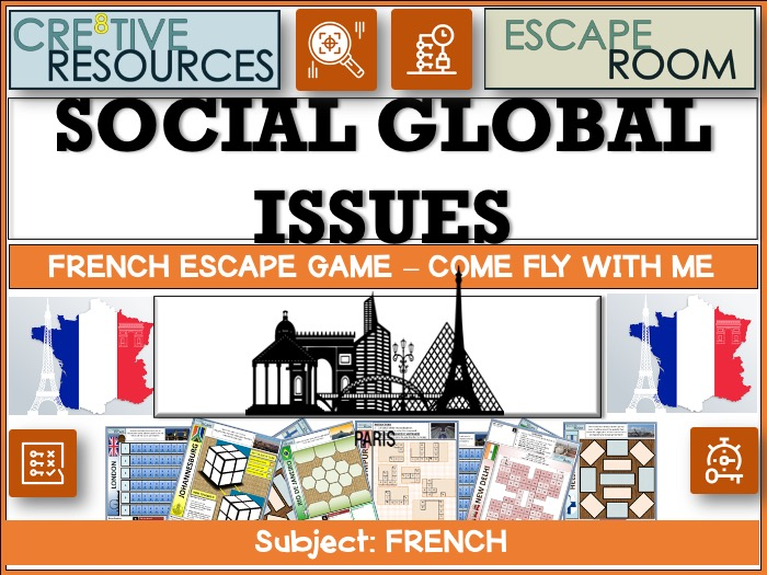 Social Global Issues - French Revision
