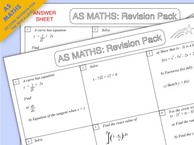 AS Maths: AS Core Revision for the New A Level