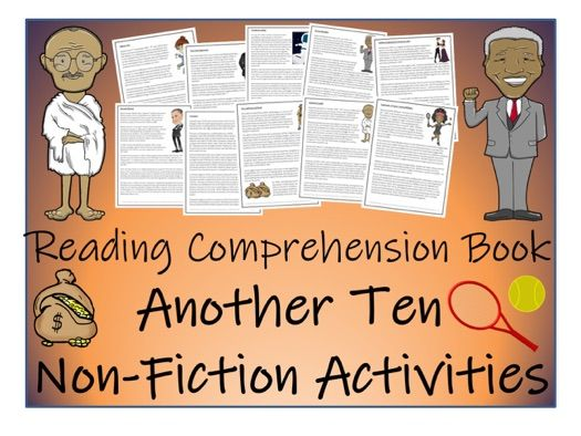 UKS2 Literacy - Non-Fiction Reading Comprehension Activity Book - Volume II (10 Activities)