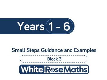 White Rose Maths - Schemes of Learning - Years 1 - 6 - Block 3