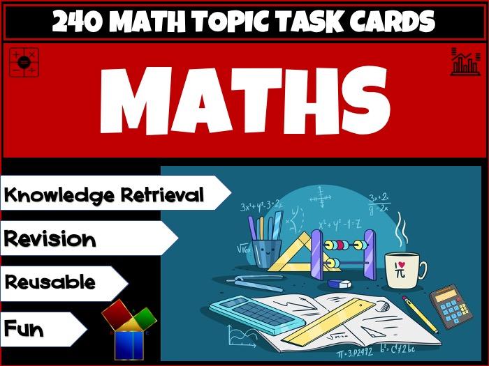 Maths Revision Bundle