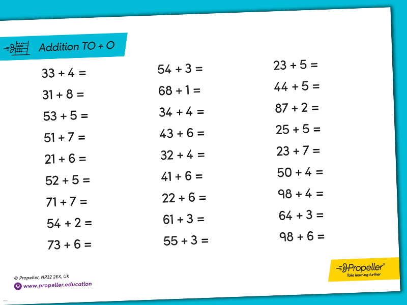 Adding Single Digit Numbers to 2-Digit Numbers | ARITHMETIC PRACTICE