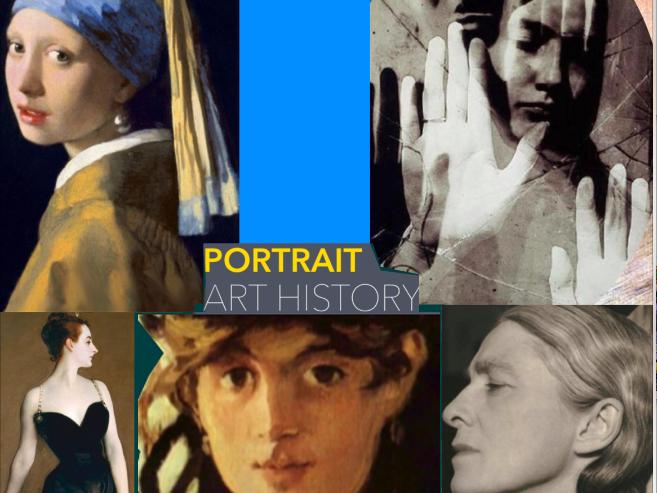 Portrait Art ~ Art History ~ Painting ~ Photography ~ Major Artists ~ 215 Slides