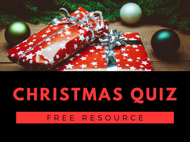 Christmas Quiz - Full Powerpoint