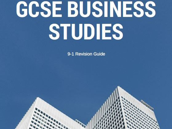 GCSE Business Studies WJEC Revision Guide