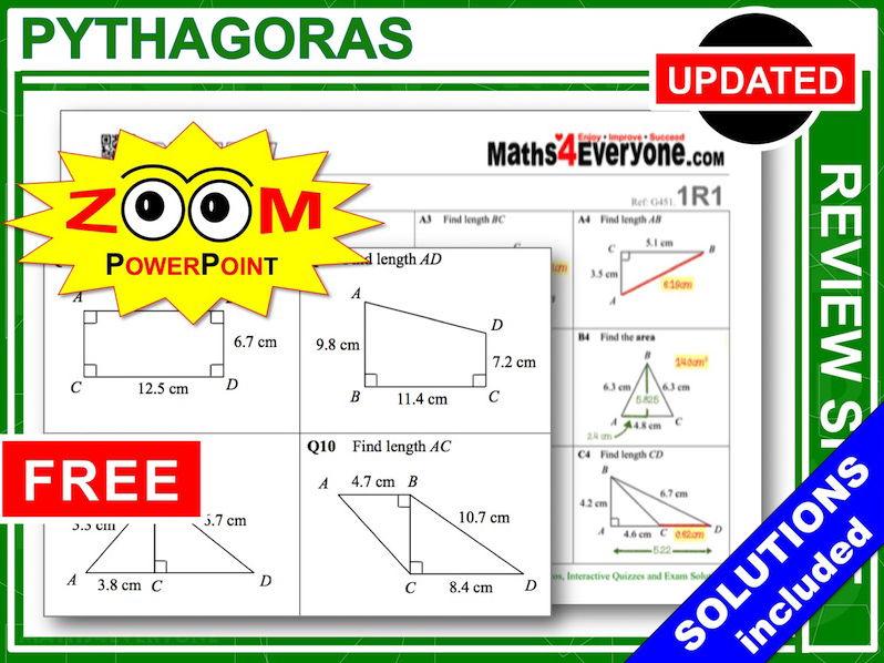 GCSE Revision (Pythagoras)